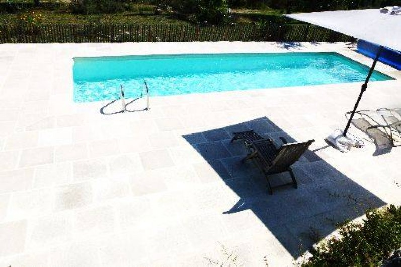 Location de vacances - Villa à Saignon - piscine 10 x 3