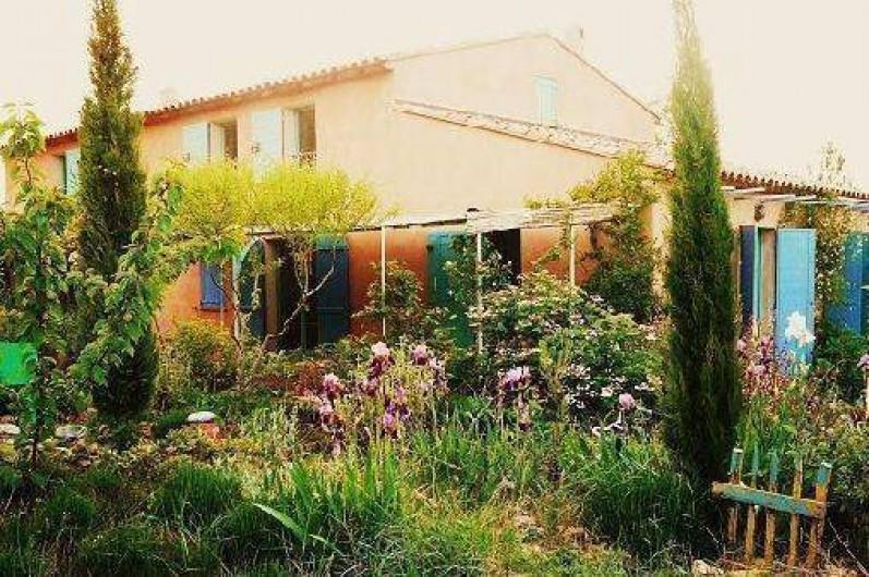Location de vacances - Villa à Saignon - façade Sud