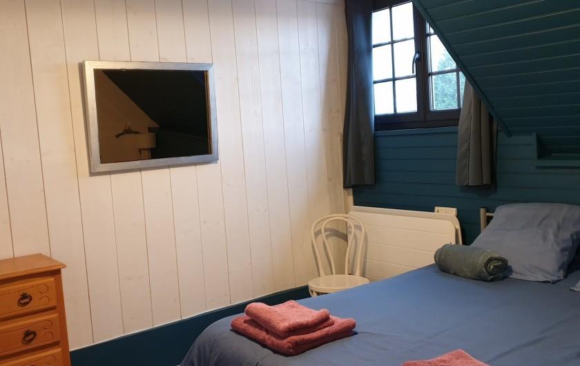 Location de vacances - Gîte à Le Crotoy - Chambre 1 (Etage) 1 lit 140