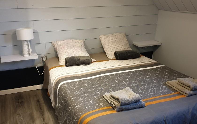 Location de vacances - Gîte à Le Crotoy - Chambre 3 (Etage) Lit 160