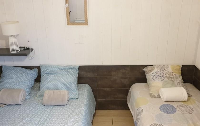 Location de vacances - Gîte à Le Crotoy - Chambre 1 RDC 1lit 140 et 1 lit 90