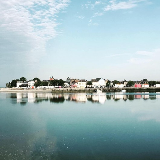 Location de vacances - Gîte à Le Crotoy - Le Crotoy, vue des écluses