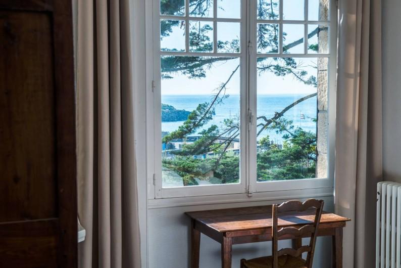 Location de vacances - Villa à Dinard - Vue Mer - Chambre 1