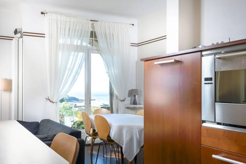 Location de vacances - Villa à Dinard - Salle à manger / Cuisine