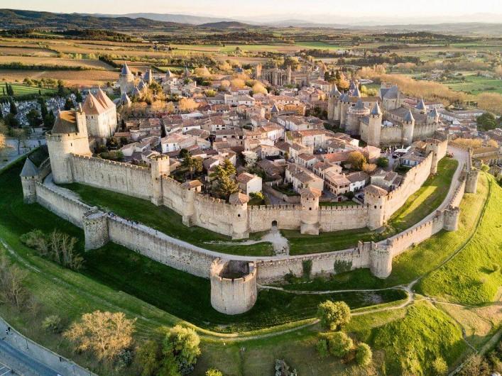 Location de vacances - Insolite à Villedubert - Cité médiévale de Carcassonne