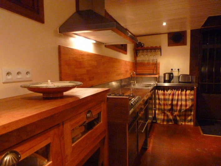 Location de vacances - Insolite à Villedubert - Cuisine