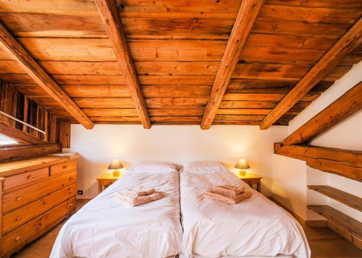 Location de vacances - Chalet à Mâcot-la-Plagne - Chambre 3 personnes