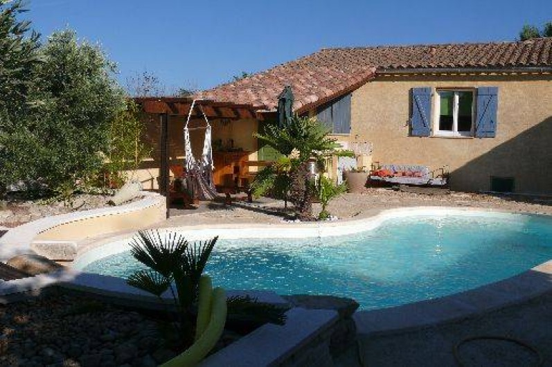 Location de vacances - Villa à Maubec