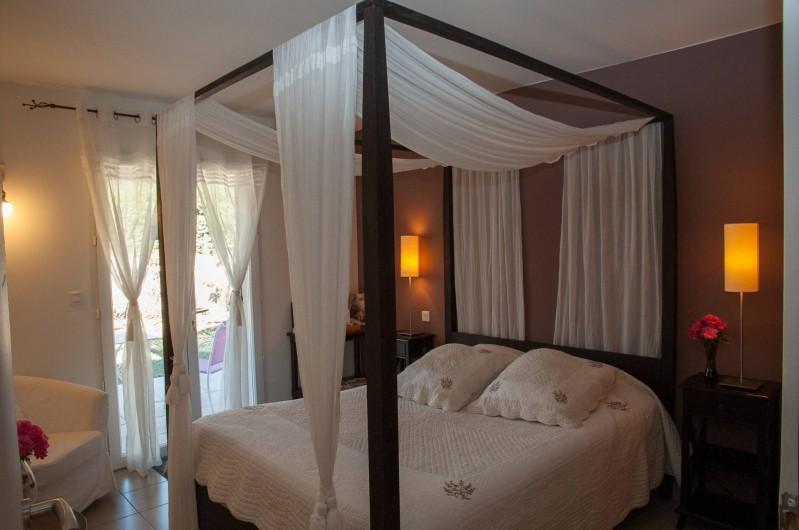 Location de vacances - Chambre d'hôtes à Lorgues - Chambre Grenache