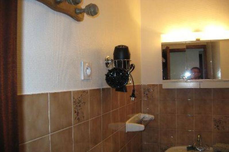 Location de vacances - Appartement à Saint-Jean-d'Arves - Une salle de bains