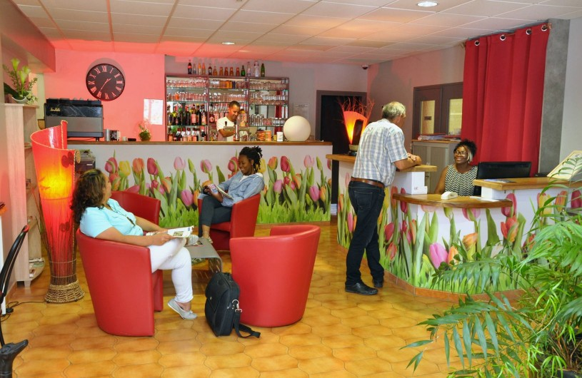 Location de vacances - Hôtel - Auberge à Lavilledieu - Réception