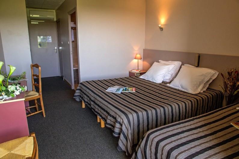 Location de vacances - Hôtel - Auberge à Lavilledieu - Chambre triple supérieur