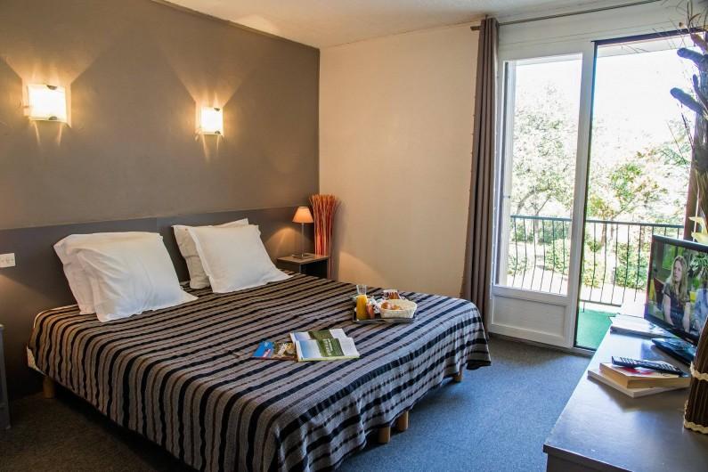 Location de vacances - Hôtel - Auberge à Lavilledieu - Chanbre double suppérieur