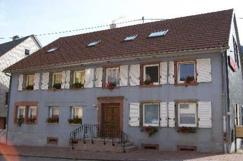 Location de vacances - Appartement à Le Bonhomme