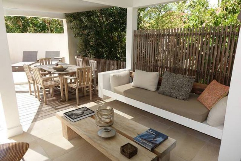 Location de vacances - Chambre d'hôtes à Gustavia - Terrasse