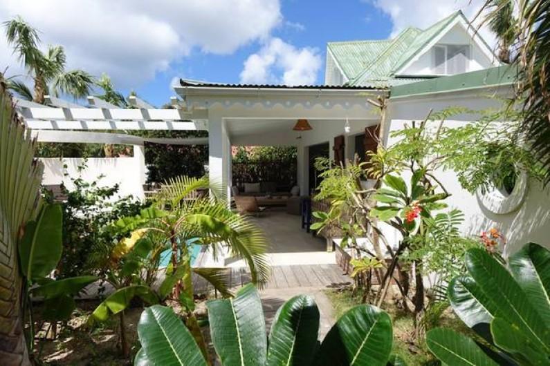 Location de vacances - Chambre d'hôtes à Gustavia - Villa PARADISE