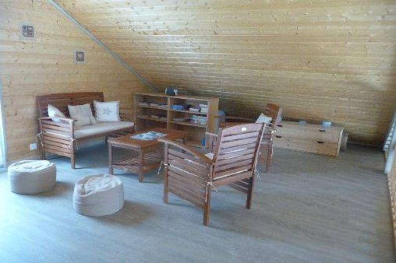 Location de vacances - Gîte à Doucier - Salon mézzanine