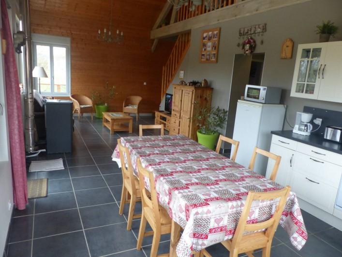 Location de vacances - Gîte à Doucier - Salle à manger