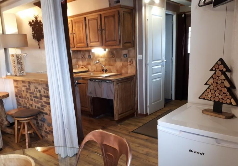 Location de vacances - Chalet à Saint-Lary-Soulan - Studio cuisine