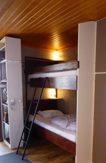 Location de vacances - Chalet à Saint-Lary-Soulan - Studio lits superposés
