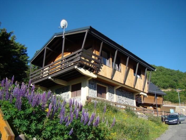 Location de vacances - Chalet à Saint-Lary-Soulan - Extérieur été