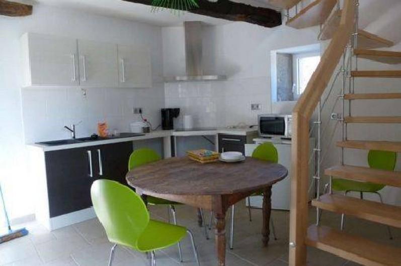 Location de vacances - Maison - Villa à Cajarc - cuisine moderne