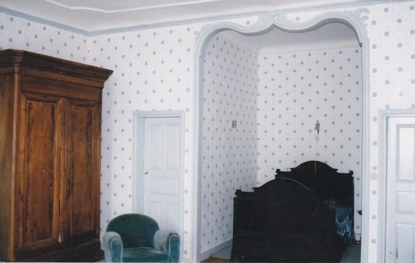 Location de vacances - Maison - Villa à Embrun - Grande chambre bleue 1 lit double 1 lit simple