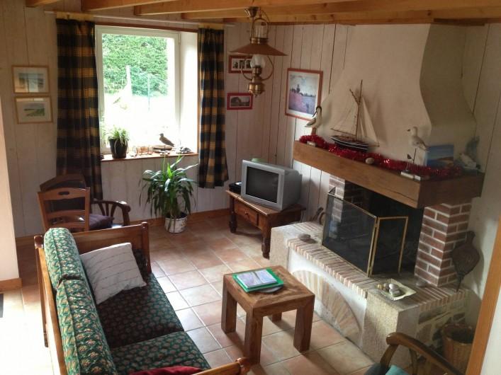 """Location de vacances - Maison - Villa à Erquy - salon """"les chatelets"""""""