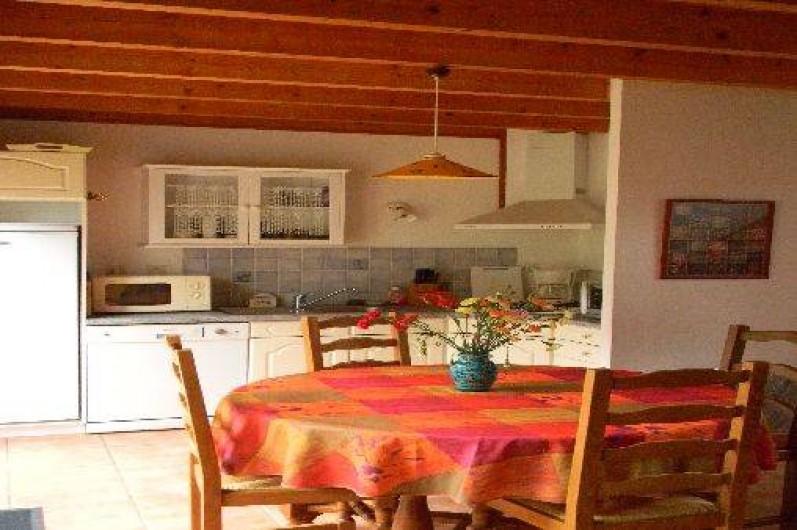 Location de vacances - Maison - Villa à Erquy - cuisine