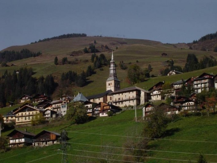 Location de vacances - Appartement à Hauteluce - Village de HAUTELUCE