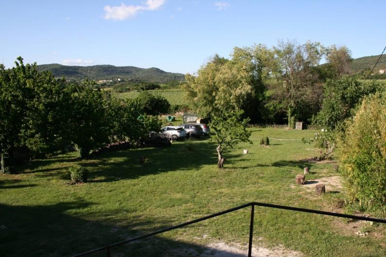 Location de vacances - Mas à Lagorce - jardin