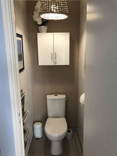 Location de vacances - Appartement à Neufchâtel-Hardelot - Toilettes