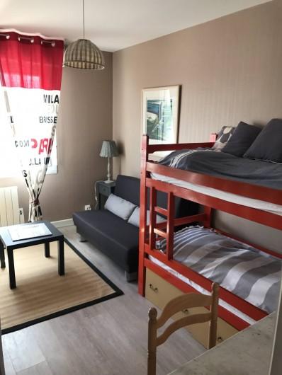 Location de vacances - Appartement à Neufchâtel-Hardelot - Chambre des enfants