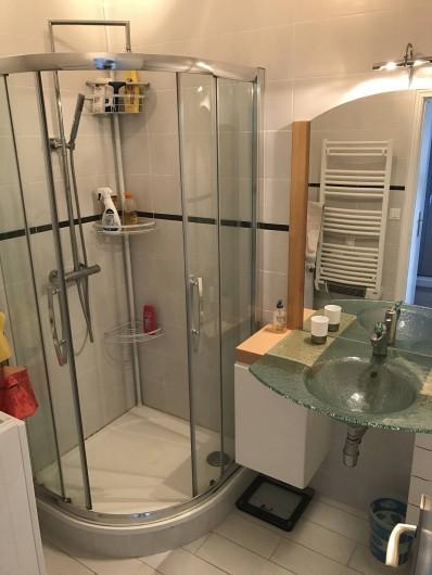 Location de vacances - Appartement à Neufchâtel-Hardelot - Salle de bains