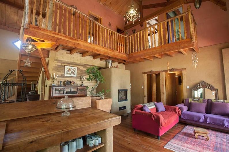 Location de vacances - Villa à Monestier - La pièce à vivre