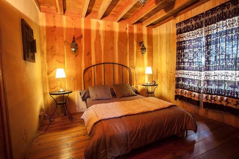 Location de vacances - Villa à Monestier - La chambre chalet, N°1