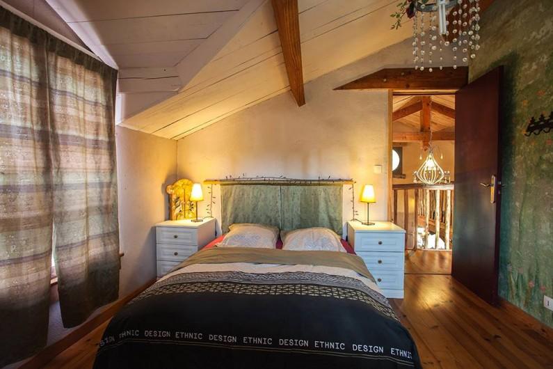 Location de vacances - Villa à Monestier - La chambre forêt, N°5