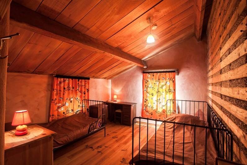 Location de vacances - Villa à Monestier - La chambre couché du soleil , N°3