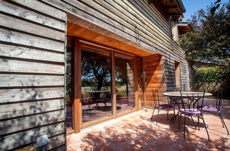 Location de vacances - Villa à Monestier - La terrasse sud