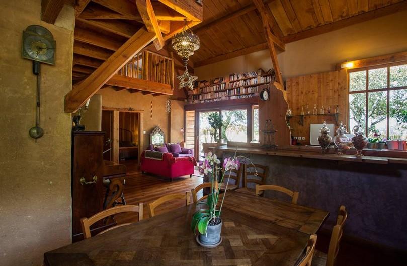 Location de vacances - Villa à Monestier - Notre salle à manger ouverte