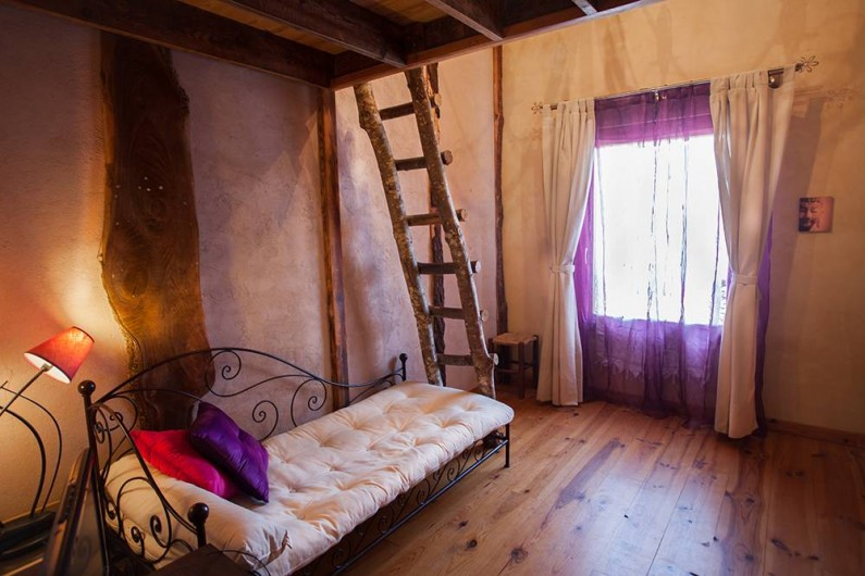 Location de vacances - Villa à Monestier - La chambre levé du soleil , N°4