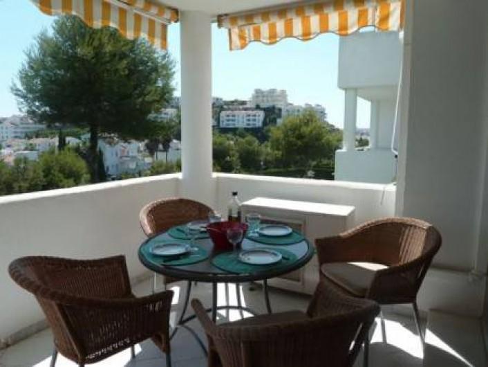 Location de vacances - Appartement à Malaga - terras