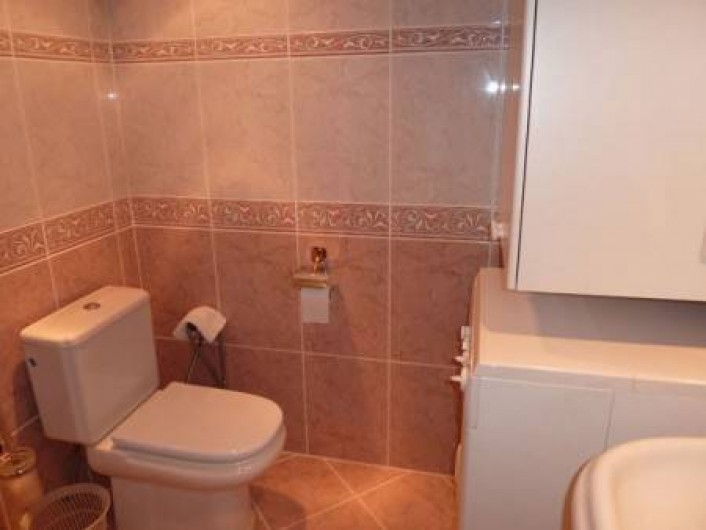 Location de vacances - Appartement à Malaga - toilet and wash/drymachine
