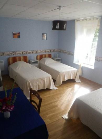 Location de vacances - Chambre d'hôtes à Les Maillys - chambre afrique