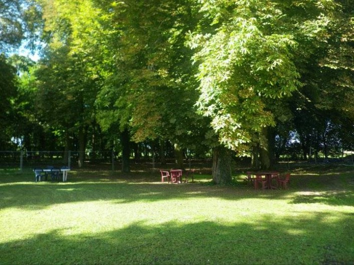 Location de vacances - Chambre d'hôtes à Les Maillys - le parc