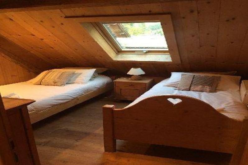 Location de vacances - Appartement à Morzine - Chambre 3 Abricotine