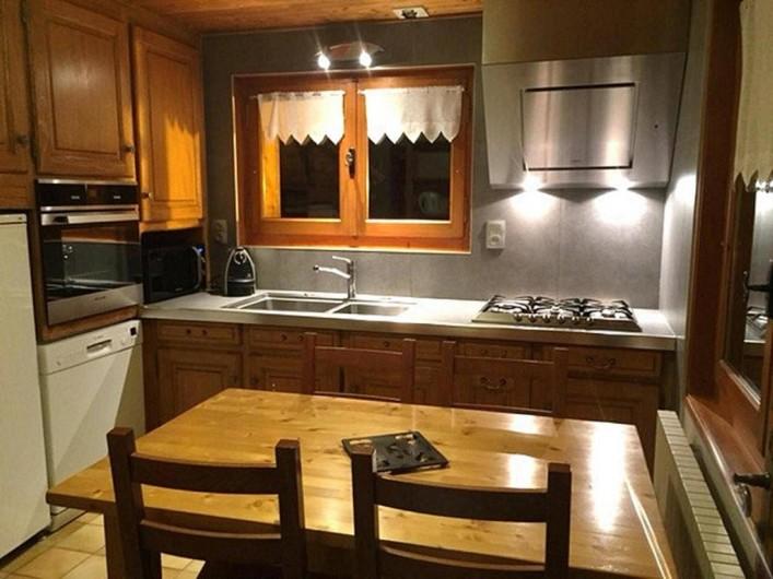 Location de vacances - Appartement à Morzine - Cuisine ABRICOTINE