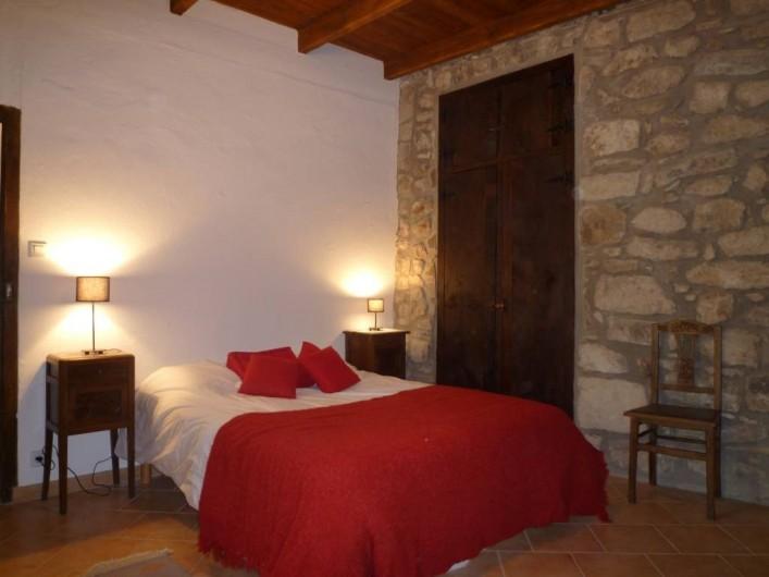 Location de vacances - Maison - Villa à Vinezac - Chambre du Cerisier