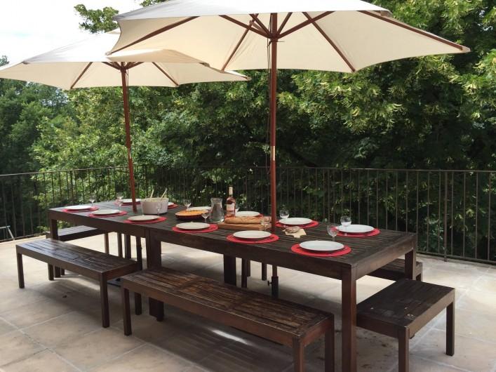Location de vacances - Maison - Villa à Vinezac - Terrace