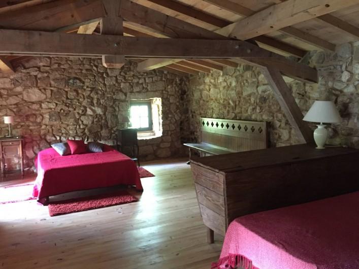 Location de vacances - Maison - Villa à Vinezac - Chambre du Laurier